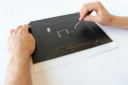 Stencil Mask for Top Conductive Layer