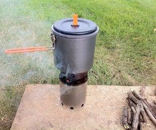 Easy Wood Gasifier Stove + 2 Non-Perishable Recipes
