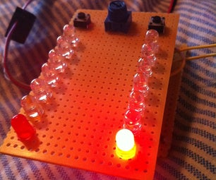 MultiFunction LED Game Using an ATmega32 Microcontroller