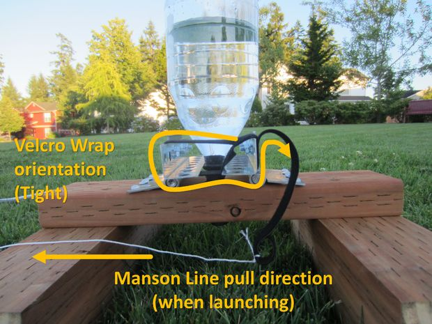 2 Liter Bottle Water Rocket and Launcher Pad