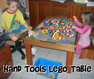 Hand Tools Lego Table