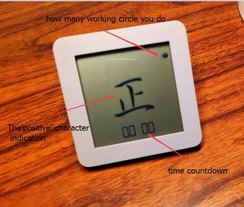 POMODORO TECHNIQUE TIMER - EASY USE HARDWARE DEVICE FOR TIME MANAGEMENT