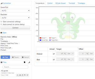 Setting Up Octoprint Web Interface for 3d Printer on Cubietruck