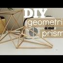 Geometric Prism Decor