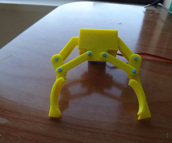 The Claw:  a 3D Printed Robotic Claw