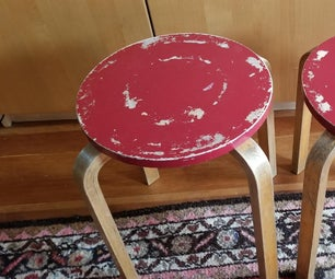 Covering Old Stools