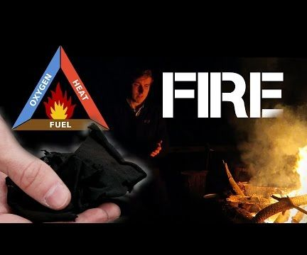 Start A Fire Using Char Cloth