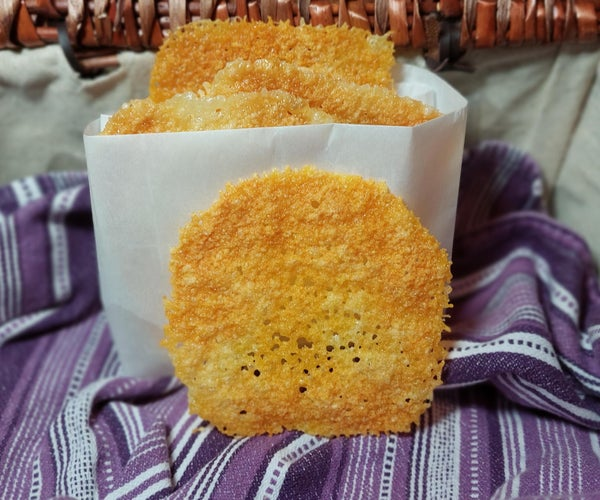99-second Cheese Crisps