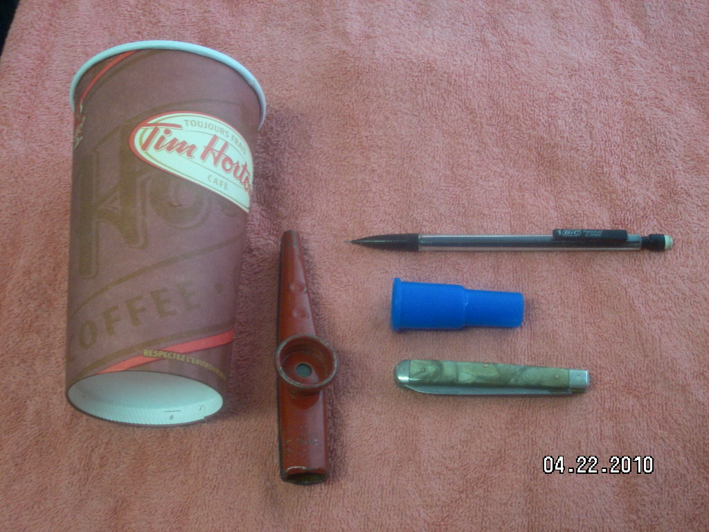 Kazoo Amplifier from a Paper Coffee Cup