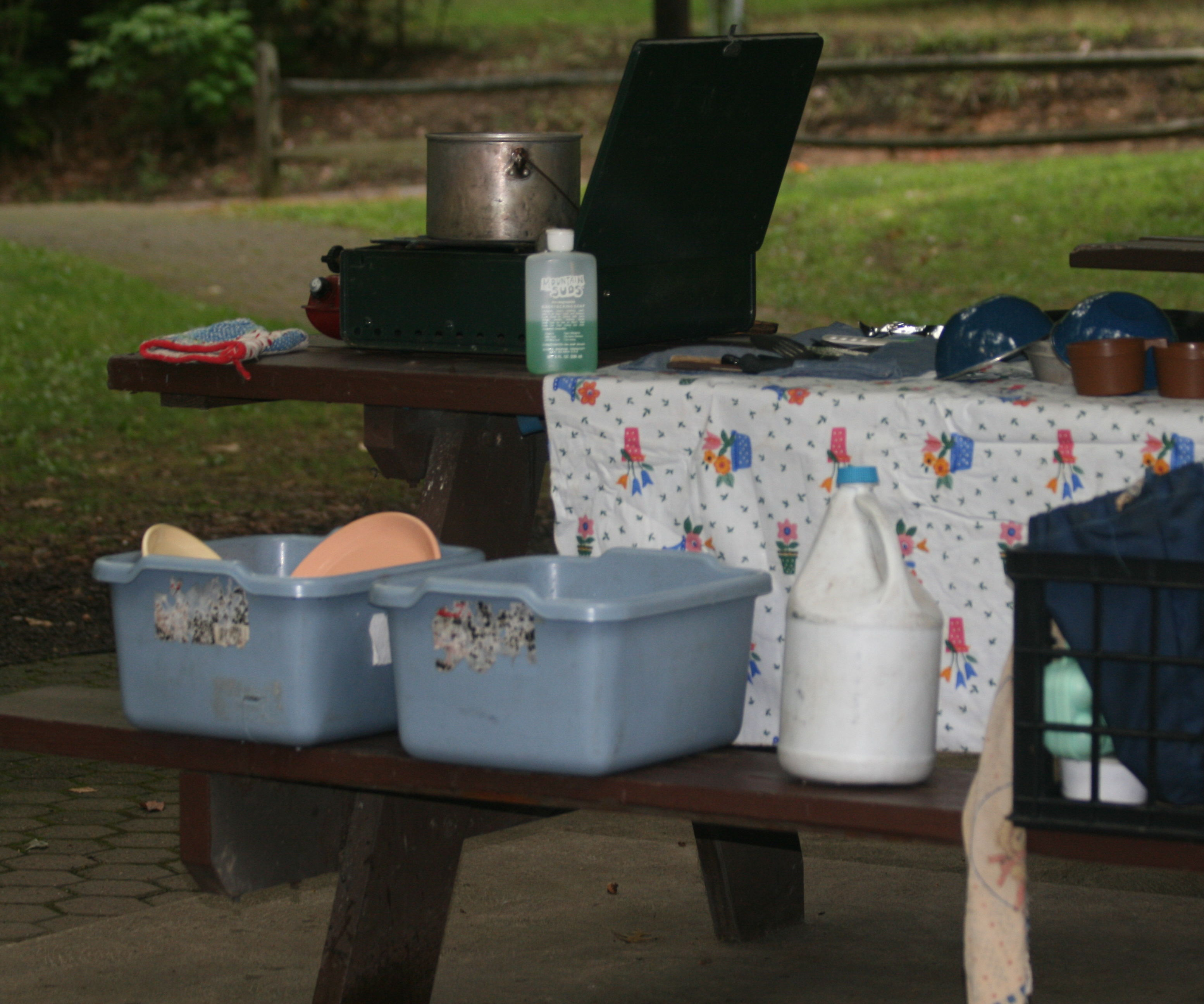 Camping Meal Clean-Up