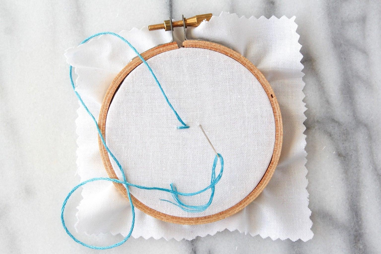 How to Do the Stem Stitch
