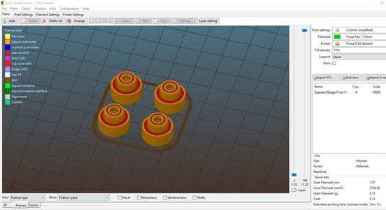 3D Printing Files, Settings & Vitamins