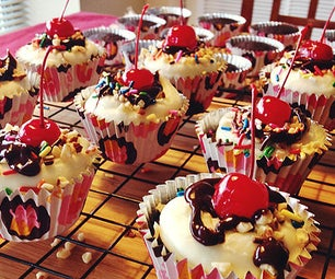 Chocolate Sundae Cupcakes Recipe