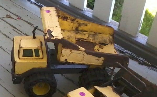 Restoring Tonka Trucks