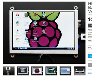 """800 X 480 - 5"""" HDMI Display - Using Jessie With Pixel -  Resolution Issue"""