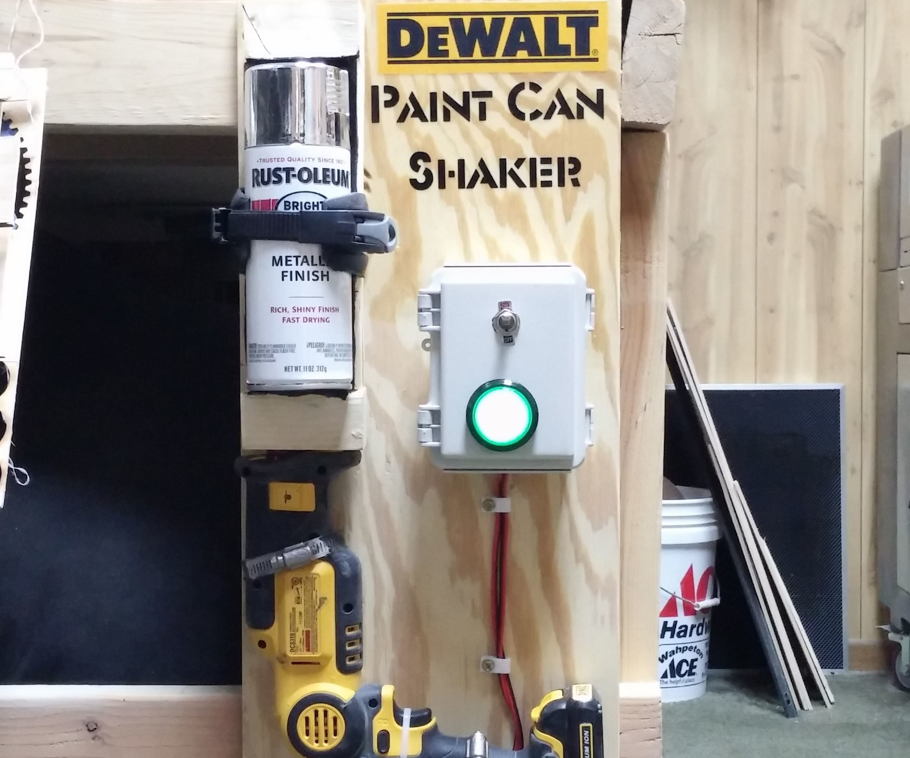 Dewalt Spray Paint Shaker
