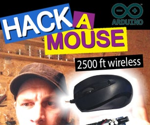 Hack a Mouse With Arduino. 2500 Ft Wireless. PS/2