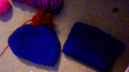 ?hat and Crowl ?and Hand Warmers or Mittens?