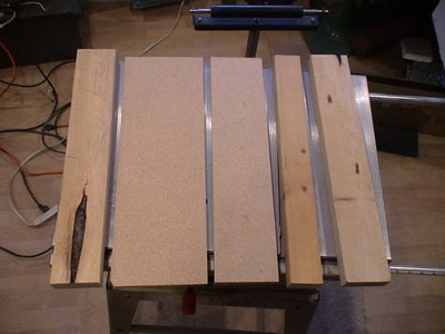 Cut the Rest of the Wood Parts