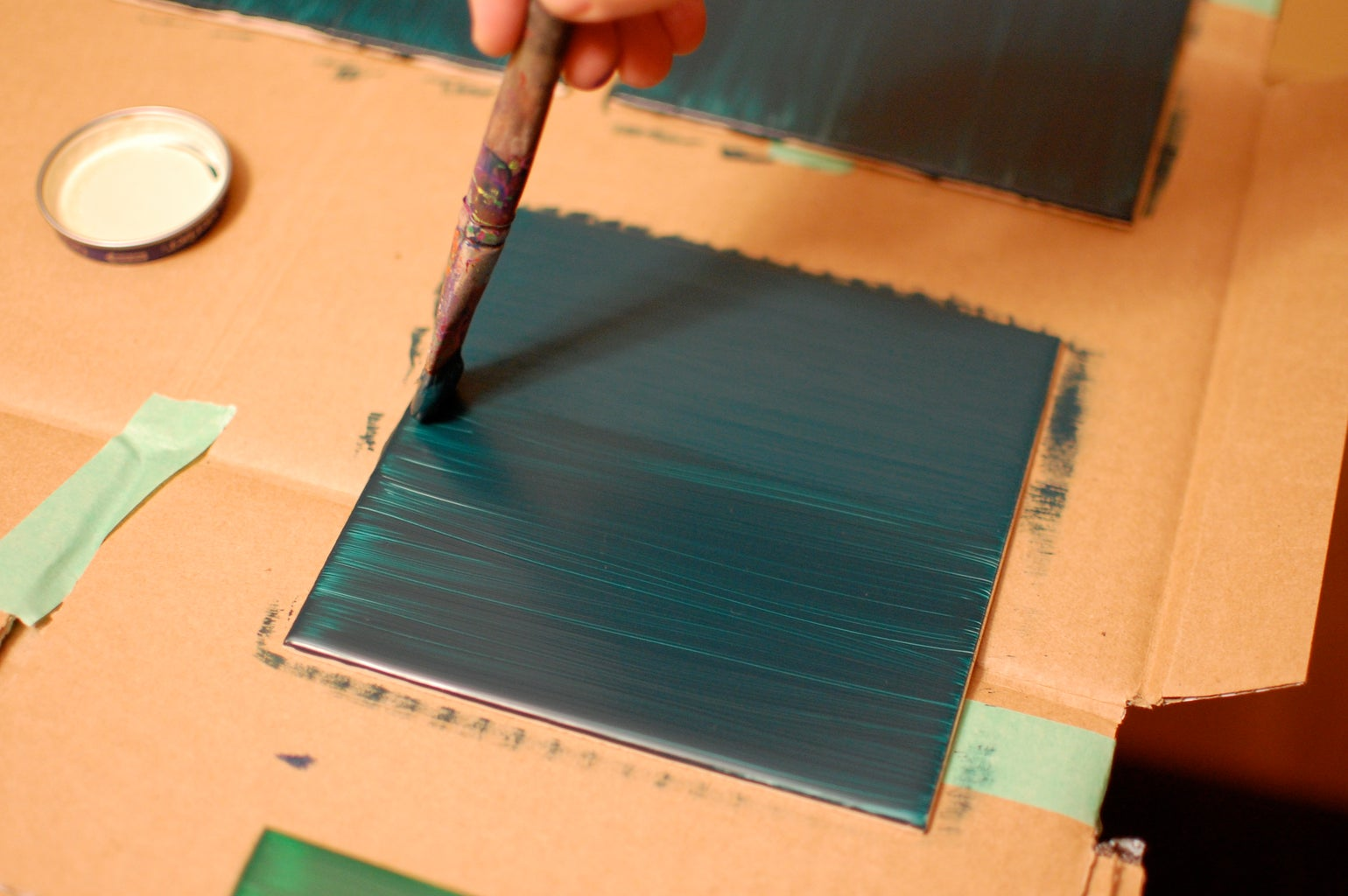 Planning and Painting Tiles