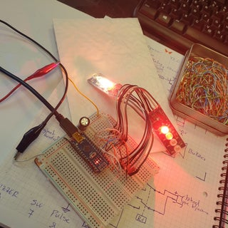 Police Lights With Arduino
