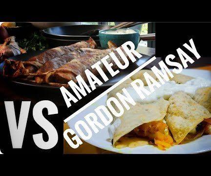 My Take on Gordon Ramsay's Spicy Potato Breakfast Pancakes | Egg Free