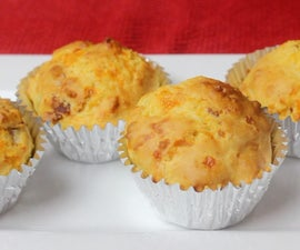 How to Make Cheddar Bacon Muffins