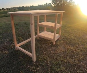 How to Build a Small Desk