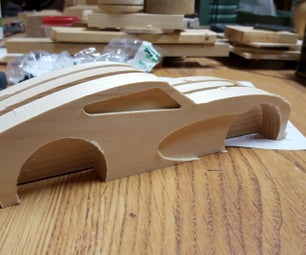 Wood Muscle Car Build - a CNC Project