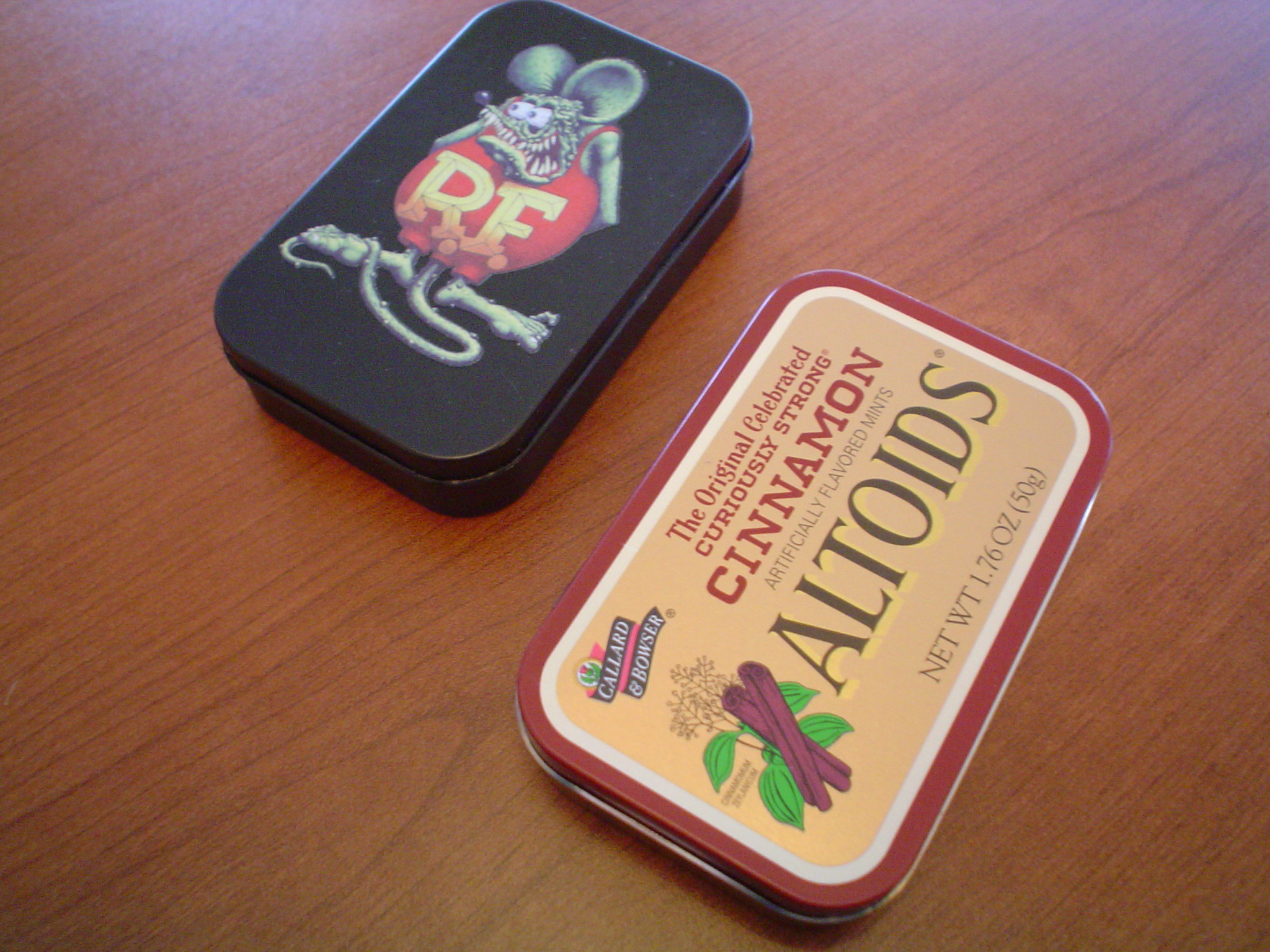 Altoids Tin Wallet
