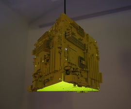 Motherboard Lamp – Upcycling