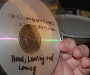 Clear Simple CD Case