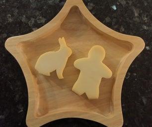 凉爽的3D奶酪雕刻