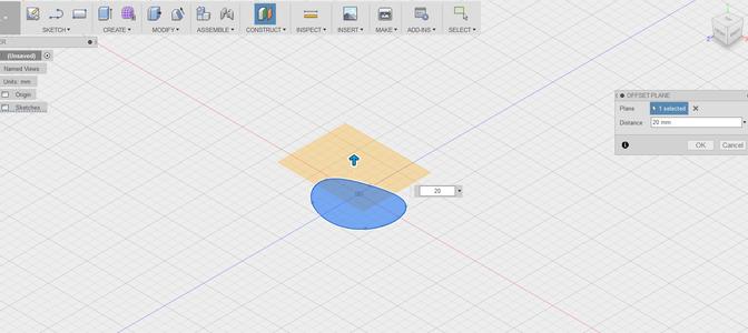Creating Offset Plane to Sketch Next Slice Profile