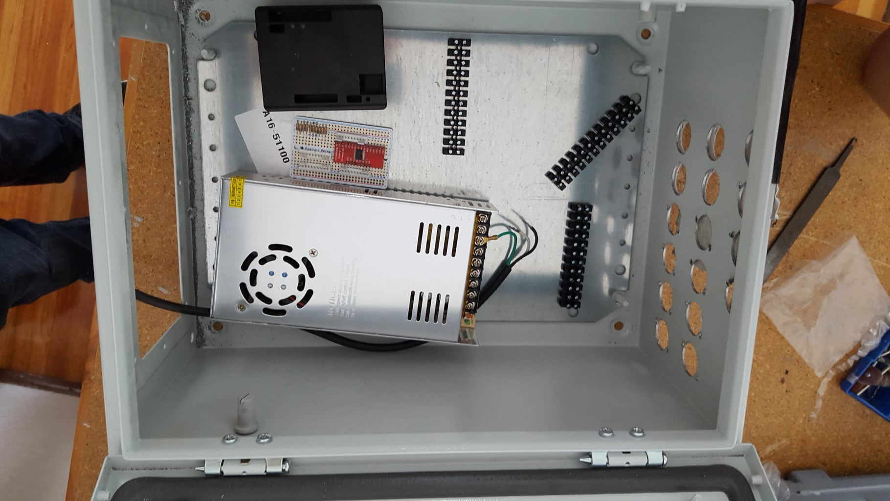 Preparing the Control Panel