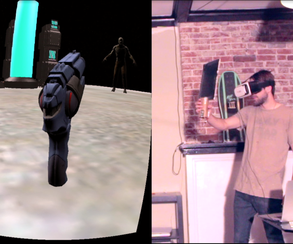 The Oculus Cardboard Project: DIY Virtual Reality Gun With Tracking Using Arduino and the ESP8266