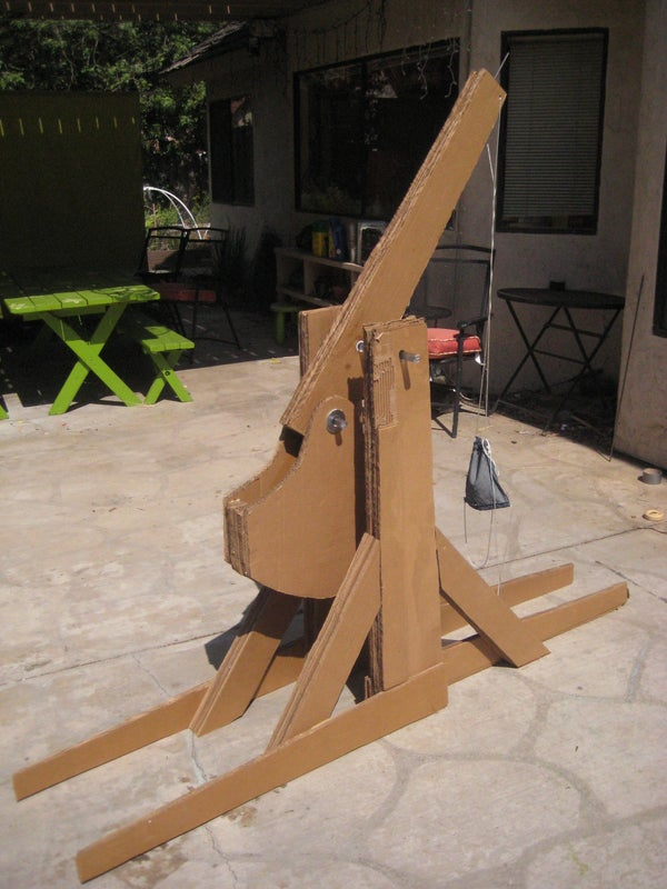 How to Make a Medieval Trebuchet Out of Cardboard