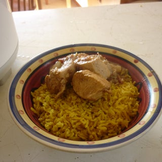 Chicken Tikka Masala With Turmeric Rice