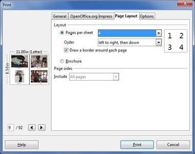 """Print"" Your Presentation to a PDF File"