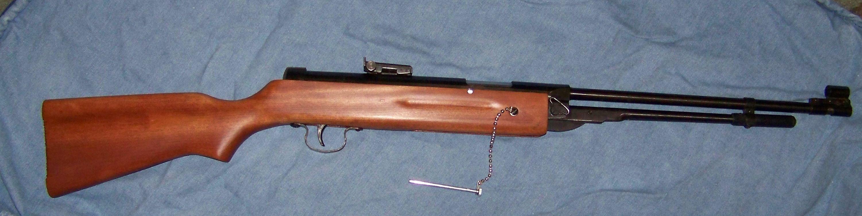 Add a breech safety to a cheap Chinese pellet gun