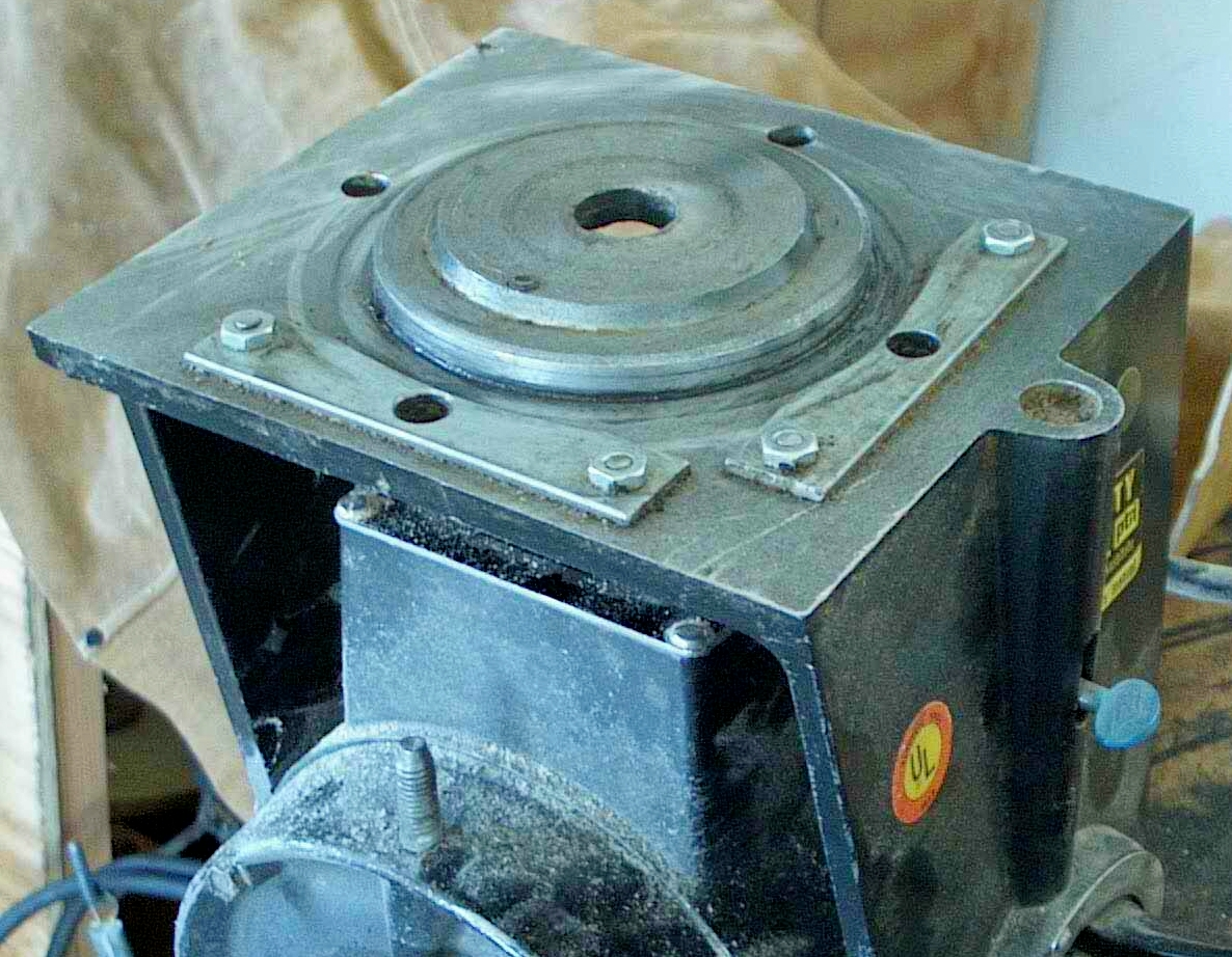 Sears Radial Arm Saw: Egg-shaped Indexing Holes