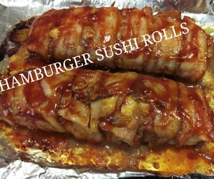 Hamburger Sushi Roll