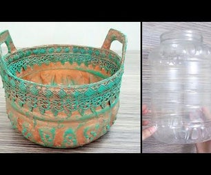 Copper Ageing Basket