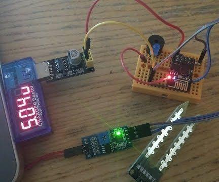 ESP8266/ESP-01 Arduino Powered Leak Detector