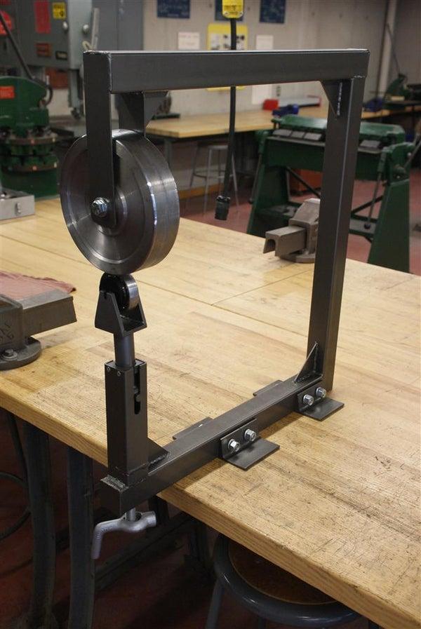 Design and Build an English Wheel