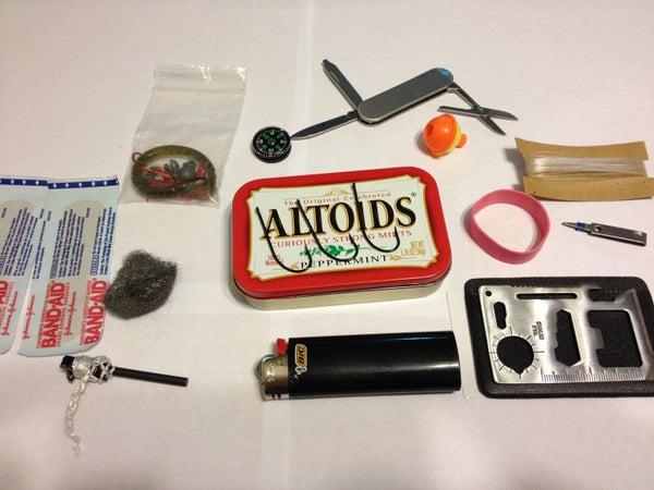Altoids Fishing Tin