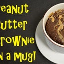 Peanut Butter Brownie in a Mug!