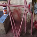 BMX bike custom paint