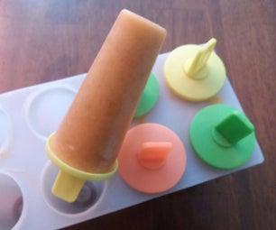 Apricot Popsicles