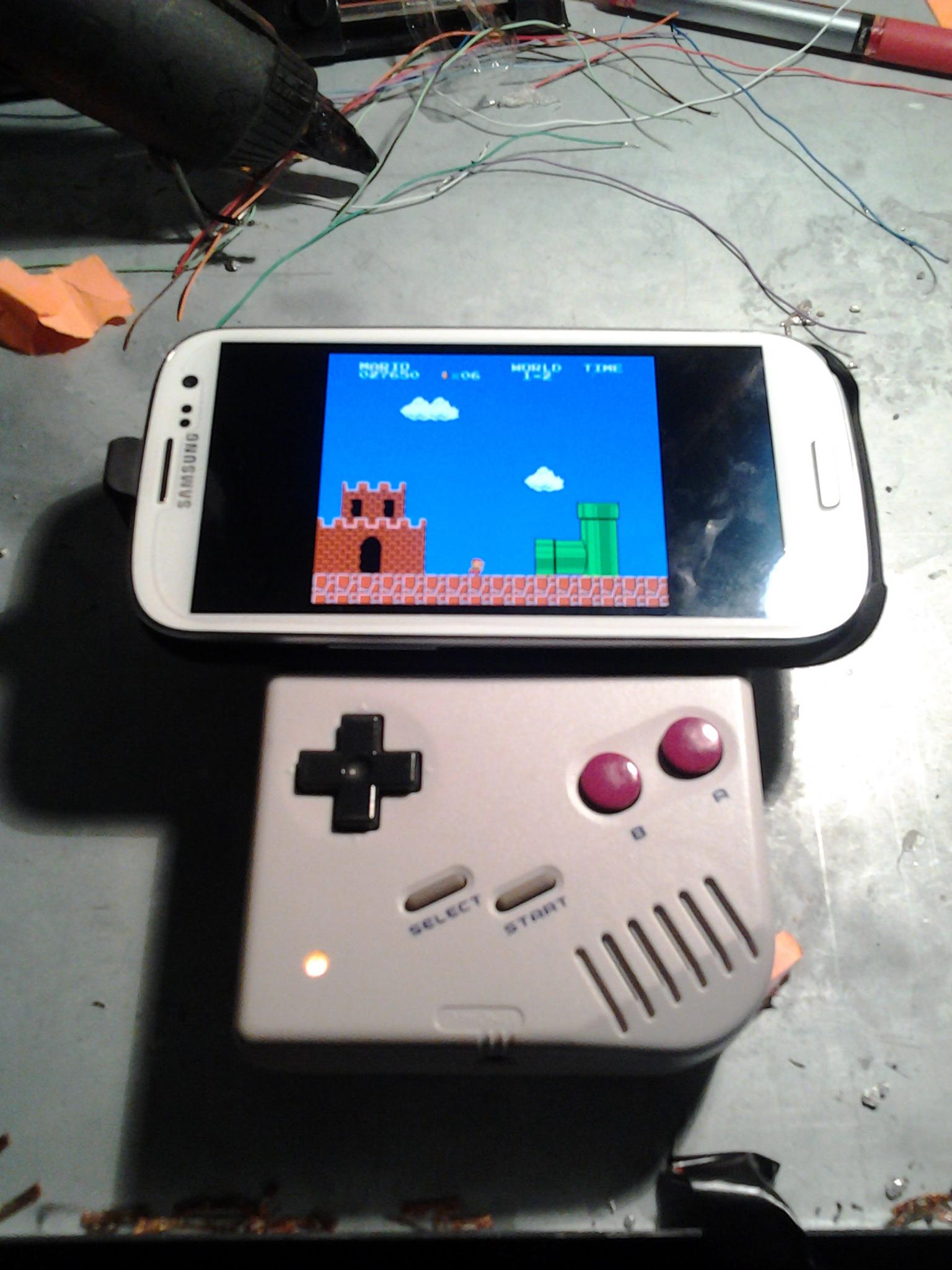 Game Boy Bluetooth Game Pad